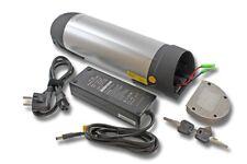 E-BIKE TRINKFLASCHEN Akku 36V 10000mAh für ELEKTRO FAHRRAD PEDELEC EBIKE