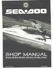 seadoo gtx di 2003 workshop manual