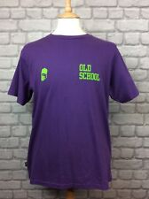 BNWT FRANKLIN & MARSHALL MENS UK XL PURPLE OLD SKOOL TEE TSHIRT T-SHIRT CASUAL