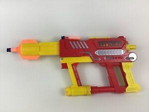 Iron Strike Blaster Nerf Dart Gun Iron Man 2 Marvel Toy Weapon Hasbro 2010 Hero