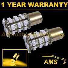 2X 581 BAU15S PY21W XENON AMBER 48 SMD LED FRONT INDICATOR LIGHT BULBS FI202401