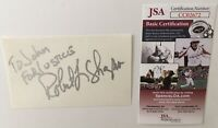 Robert Shapiro Signed Autographed 3x5 Card JSA Certified OJ Simpson Trial