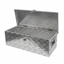 Alu Staubox , Werkzeugkasten für PKW Anhänger 760x330x245