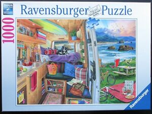 Ravensburger 1000 Piece Jigsaw Rig Views by Jason Taylor Campervan Done Once