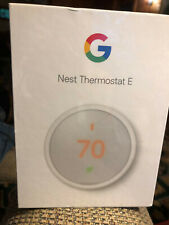 Google Nest Programmable Thermostat E - White (T4000ES)