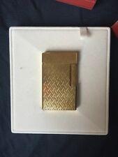 st dupont lighter gold No# 1539