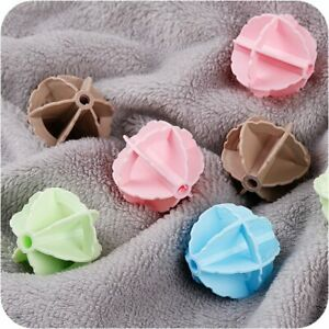 5 Pcs/lot Super Magic Decontamination Anti-winding Laundry Ball Dryer Clean