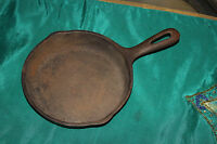 "Wagner Ware 6 1/2"" Cast Iron Skillet-General Housewares Corp.-Aged Pan-USA Made"