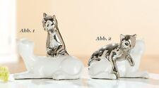 """PAREJA DE GATOS ABB. 2 Figura Gato"""" MADRE Y Joven """"Figura Escultura 20329a"""
