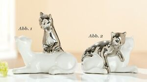 Gilde Cat Couple Abb. 1 Figurine Cat Pair Novelty 20329