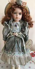 Porcelain Doll In Victorian Costume- Windsor Collection