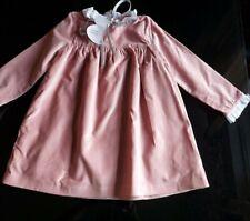 Neues AngebotBenedita Mädchen Rosa Samt Kleid 4 Jahre
