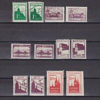 CENTRAL LITHUANIA 1920, Mi #1-6, CV €20, MH