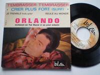 ORLANDO Je Tremble (Hully Gully) +3 FRANCE EP 1963 POPCORN MOODY YE-YE BEAT