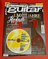 Guitar 11/2017 Heft Nr. 210 130 Jahre Höfner + CD Ungelesen