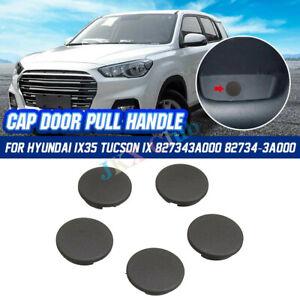 Fit For Hyundai Tucson IX35 2010-2015 o DOOR PULL HANDLE CAP Black X5