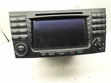 03-06 MERCEDES E500 E320 RADIO CD PLAYER GPS NAVIGATION A2118276342 OEM AS61