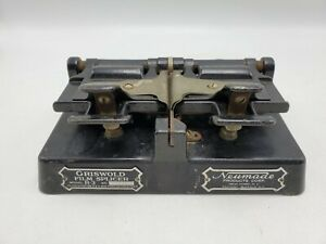Vintage Griswold 16mm Film Splicer Model R-3 by Newmade Products Corp.