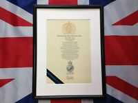 Oath Of Office Police Constable With Cap Badge Pre 1st October 2002 Affirmation