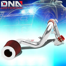 COLD AIR INTAKE ALUMINUM INDUCTION+RED CONE FILTER FOR 04-06 SCION xA/xB 1NZ-FE