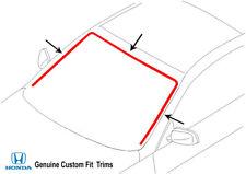 Genuine Direct-Fit Windshield Reveal Moulding Molding Trim 1988-1991 Honda Crx