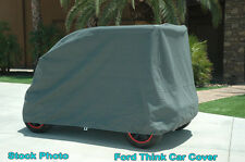 Ford Think Neighbor Economy Car Cover, Fits 4 Passenger Models. NEW.