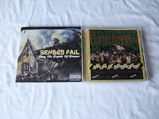 Lot of 2 Hardcore Punk Audio CDs--Senses Fail and Dropkick Murphys