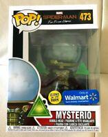 Funko Pop! Spider-Man Far From Home MYSTERIO (GITD) # 473 Walmart Exclusive NEW
