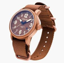 LUM-TEC LIMITED EDITION COMBAT B31 BRONZE NEW + GIFT MENS WATCH 100 PCS.