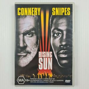 Rising Sun DVD - Sean Connery, Wesley Snipes - Region 4 -TRACKED POST