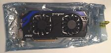 MSI GeForce GTX 660 Ti DirectX 11 N660TI PE 2GD5/OC 2GB Video Card