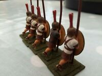 War Games  Metal Figures x 5  Roman soldiers  25mm
