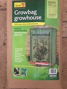 Gardman Growbag Growhouse With Heavy Duty Reinforced Cover New