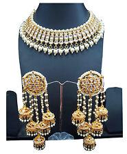 Polki kundan bridal Indian bridal Necklace earring Set bollywood wedding jewelry