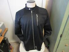 Biker style jacket light weight men's L