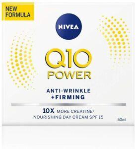 Nivea Q10 Power Anti-Wrinkle + Firming Day Cream SPF15 - 50Ml Anti Ageing Cream