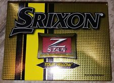 Srixon Zstar Golf Balls TOUR YELLOW  4 dozen New Balls  Free PRIORITY Shipping