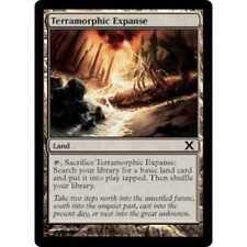 MTG Terramorphic Expanse EX - Tenth Edition (10th)
