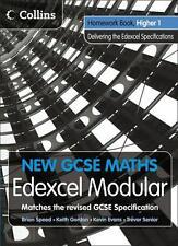 New GCSE Maths - Homework Book Higher 1: Edexcel Modular (B)