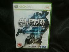 Alpha Protocol: The Espionage RPG, Xbox 360 Game, Trusted Ebay Shop