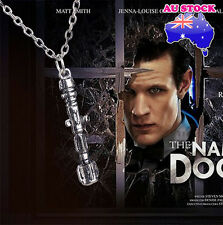 3d Doctor Who Tardis Sonic Screwdriver Universal Pendant Necklace