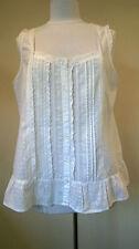 Cotton Bandeau Sleeveless Blouses for Women