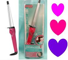 "Remington Diamond Ceramic 1/2"" - 1"" CURLING WAND Hair Iron Shiny Curls PINK NEW!"