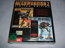 MECHWARRIOR 2 II Limited Edition  PC DOS  deutsch  eingeschweisst  USK 12 #