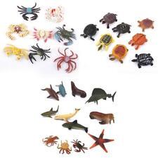 28pcs Plastic Tortoise Crab Ocean Animals Sea Creature Model Kids Favor Toys