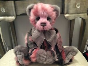CHARLIE BEARS CARA PANDA PINK 2019