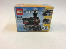 New Sealed Lego 31015 Emerald Express Steam Train Creator 3 in 1 Theme 2014