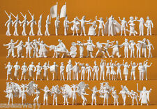 Preiser 16355 Carnaval, Carnaval, Carnaval, 68 FIGURAS SIN PINTAR, H0