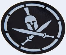 SPARTAN STENCIL TACTICAL MORALE MILITARY CAR VEHICLE WINDOW DECAL STICKER