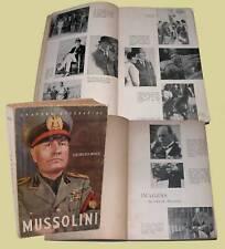 Mussolini Editorial Aster Lisboa Georges Roux fascismo in portoghese biografia
